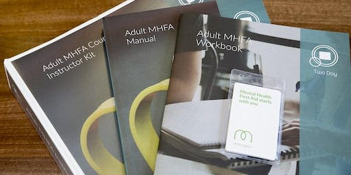 Adult Mental Health First Aid (2 day course)