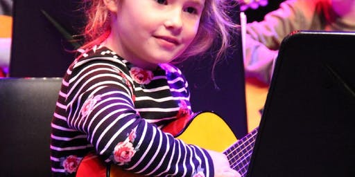CURSUS - EEN AAP DIE GEEN BANANEN EET (gitaar)- 6 lessen - 5 tm 8 jaar