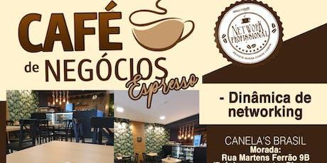 Café de Negócios Espresso: Transforme Relacionamentos em Oportunidades tickets