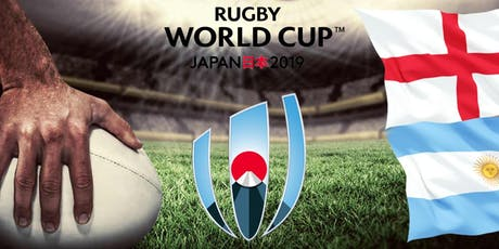 ENGLAND VS ARGENTINA - RUGBY WORLD CUP 2019 tickets