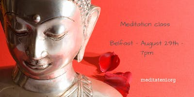 Meditation class. Living in a material world. With Kelsang Chitta.