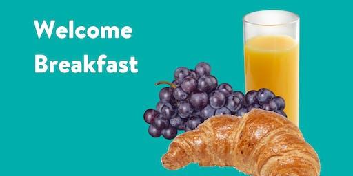 Welcome Breakfast & Mini Graduate School Exhibition