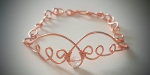 Angel Wire Sculpture Bracelet