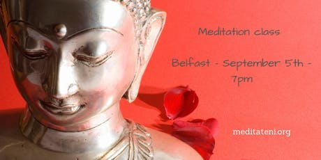 Meditation class. Success from happiness, with Kelsang Chitta. tickets