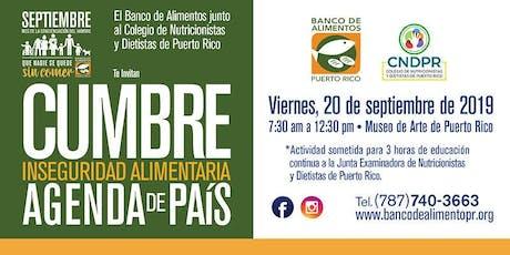 Cumbre: Inseguridad Alimentaria - Agenda de País tickets