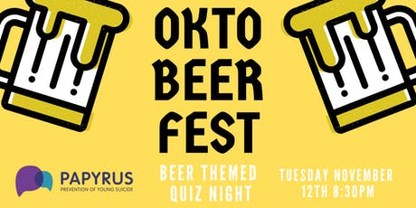 Oktoberfest Beer Themed Quiz tickets
