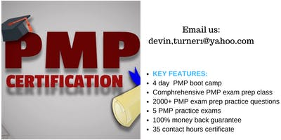 PMP Training Course in Jacksonville, FL