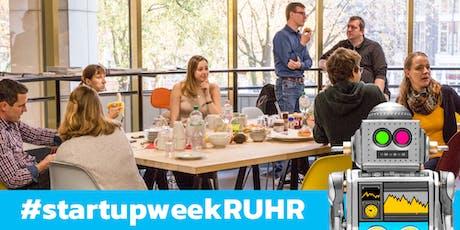 Kick-off Frühstück startupweek:RUHR 2019 Tickets