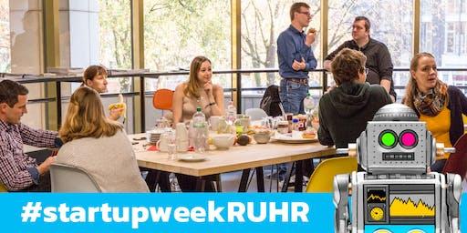 Kick-off Frühstück startupweek:RUHR 2019