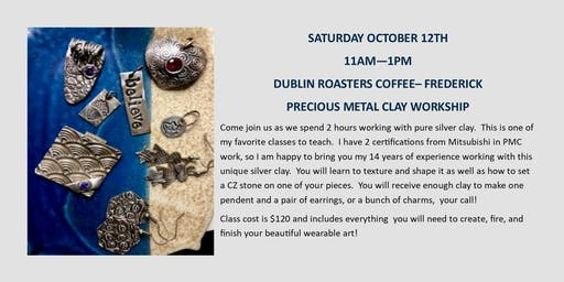 Precious Metal Clay Workshop