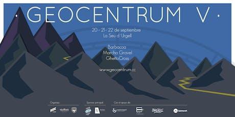 Geocentrum V.  20-21-22 Septiembre tickets