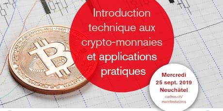 Introduction technique aux crypto-monnaies et ses applications pratiques billets