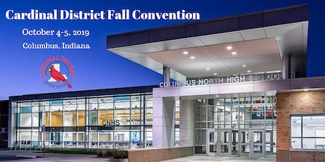 Cardinal District 2019 Fall Convention tickets