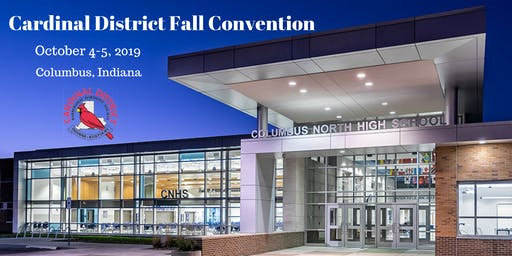 Cardinal District 2019 Fall Convention