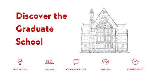 Discover the Graduate School