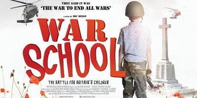 War School film screening with Q&A / Conscience AGM