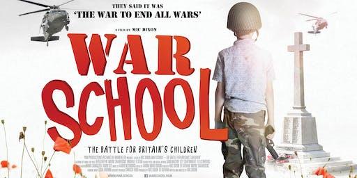 War School film screening with Q&A / Conscience AGM