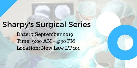 Sharpy's Surgical Series tickets