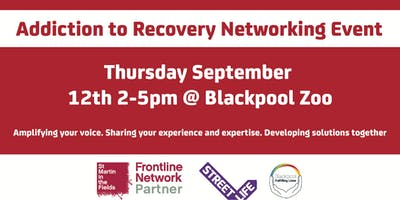 Blackpool, Wyre and Fylde Frontline Network: Addiction to Recovery Event