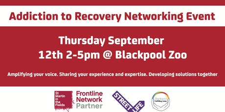 Blackpool, Wyre and Fylde Frontline Network: Addiction to Recovery Event tickets