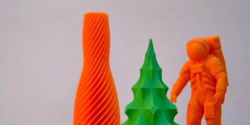 Taller 'Impresión 3D. Introducción al modelado y la impresión 3D' - Niños a partir de 9 años.