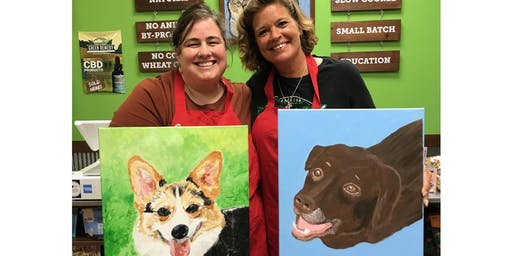 Paint your Pet at Pet Wants in Jeffersontown sept