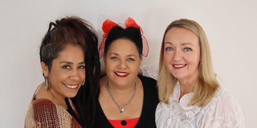 A night of mediumship with Lela, Patricia & Shari