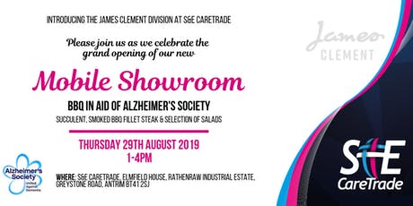 Mobile Showroom Launch & BBQ in aid of Alzheimer's Society tickets