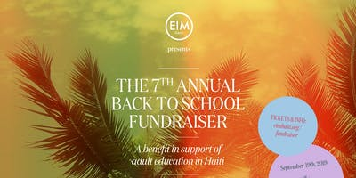 The 7th Annual Back to School Fundraiser!