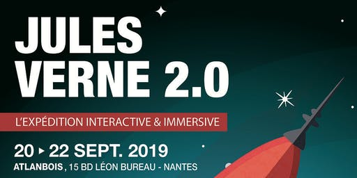 "Vernissage ""Jules Verne 2.0, l'expédition interactive et immersive"""