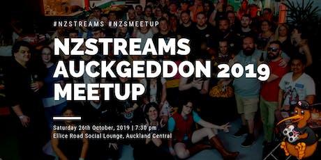 NZSTREAMS Auckgeddon Meetup 2019 tickets