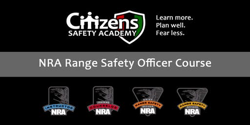 NRA Range Safety Officer Course (Private Class)