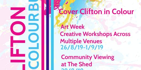 Clifton Colour Burst- WATER tickets
