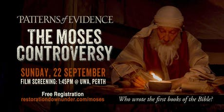 Patterns of Evidence: The Moses Controversy | Award Winning Film tickets