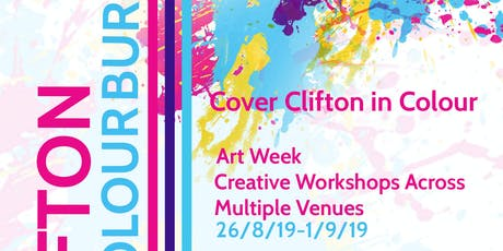 Clifton Colour Burst- EARTH tickets