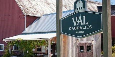 Sortie Frelighsburg: Vignoble Val Caudalie tickets