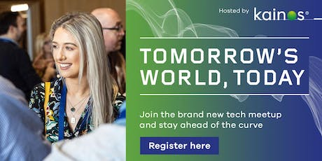 Tomorrow's World, Today - Engineers meetup, London tickets