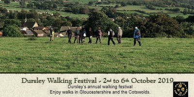 Dursley Walking Festival. Cam and the Winterbothams