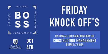 'Friday Knock off's' hosted by BOSS tickets