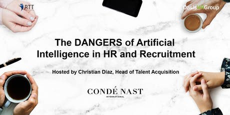 RTT - The DANGERS of Artificial Intelligence in HR and Recruitment tickets