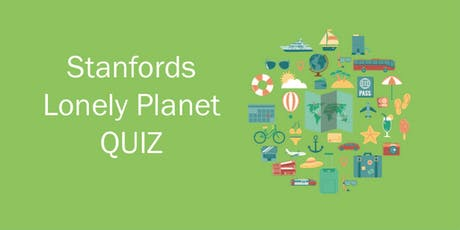 The Ultimate Travel Quiz with Lonely Planet  tickets