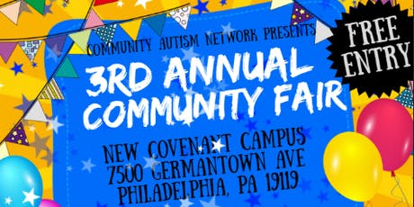 Community Autism Network: 3rd Annual Community Inclusion Fair tickets