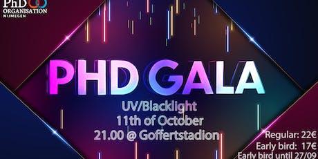 PhD Gala 2019 tickets