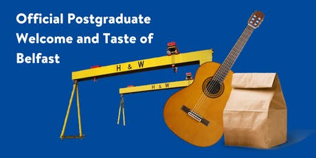 Official Postgraduate Welcome & Taste of Belfast tickets