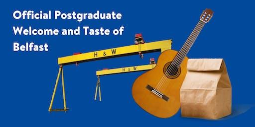 Official Postgraduate Welcome & Taste of Belfast