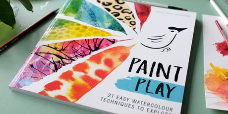 Paint Play Book Launch : Watercolour Workshop tickets