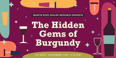 The Hidden Gems of Burgundy tickets