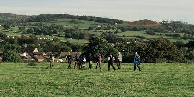 Dursley Walking Festival. Exploring the Past and Weaving workshop for Children