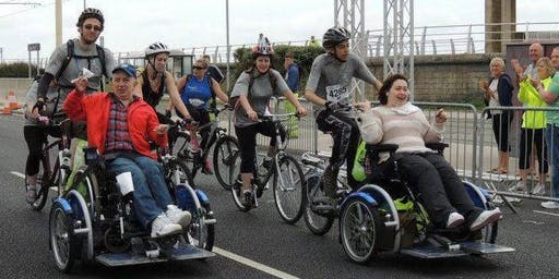 Volunteer to support people with disabilities at Ride the Lights Blackpool