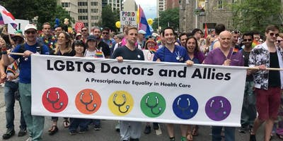 Ontario LGBTQ2+ Doctors and Allies Ottawa Pride Parade March